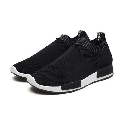 Men Summer Mens Casual Sock Shoes Sneakers Men Adult Sock Slip on Shoes Loafer Shoes