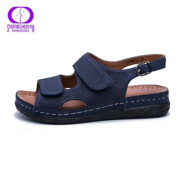 Comfortable Breathable Outdoor Low Heel Flat Sandals