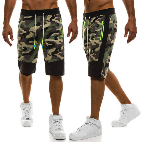 Top Design Camouflage Military Casual Shorts