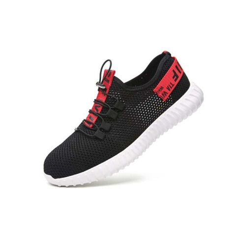 New exhibition breathable safety shoes men's Lightweight summer anti-smashing piercing work shoes