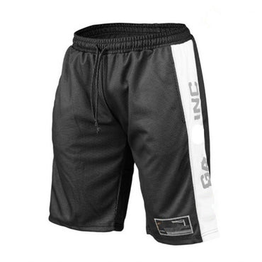 Summer Gyms Workout Breathable Mesh Quick Dry Sportswear Jogger Beach Short