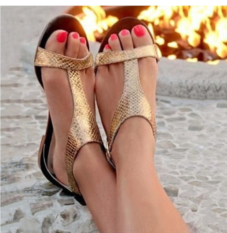 Fashion Open Toe Beach Gladiator Sandals