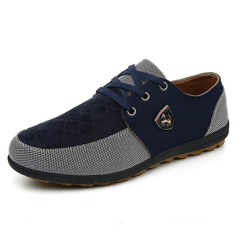 Fashion Canvas Shoes Men Casual Shoes Summer Breathable Espadrilles Sneakers