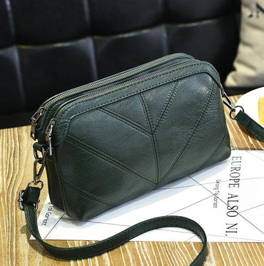 Luxury Messenger Bag Soft pu Leather handbags