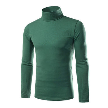 Turtleneck Solid Color Casual Sweaters