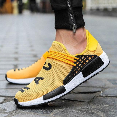 Race Yellow Running Shoes Men's