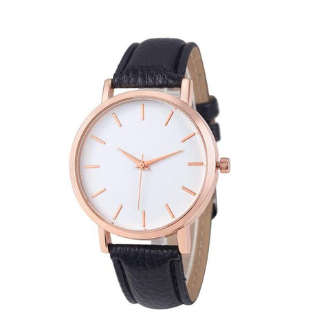 Fashion Leather Stainless Men's Watch