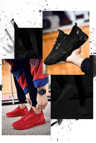 Hemmyi hot sneakers Men Lightweight Mesh Breathable fashion shoes
