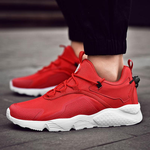 Men's Lace-Up Lightweight Running Shoes High Quality Men Sport Shoes