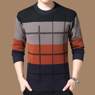 Winter Thick Sweaters O-Neck Brand Sweater