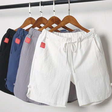 Summer cotton white casual five-time Shorts