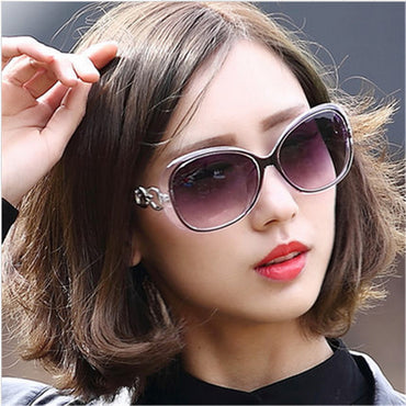 Star Style Oval Sunglasses Women Luxury Fashion Summer Sun Glasses