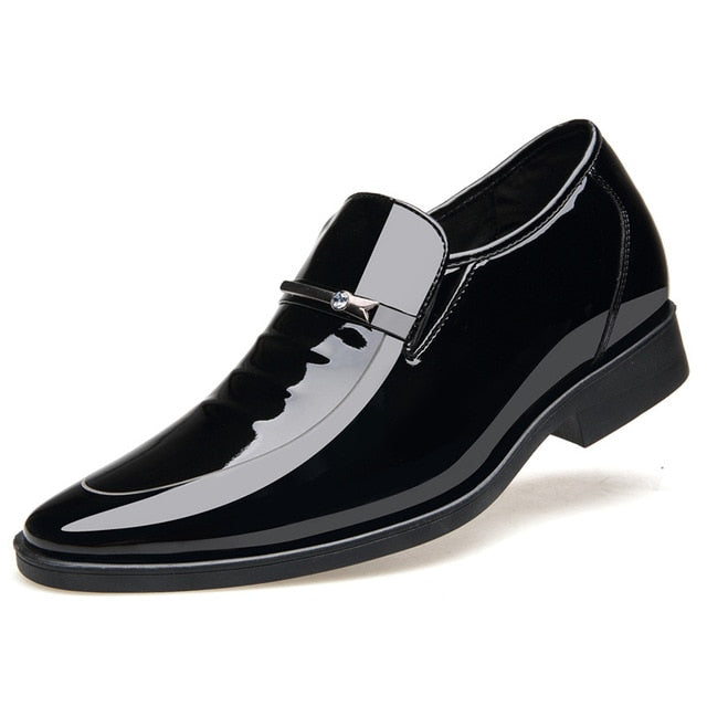 50967c1aba3f6 M Vintage Design Patent Leather Oxford Shoes Dress Shoes Men Formal Shoes  Pointed Toe Business Wedding Shoes