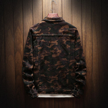Camouflage Denim Jackets