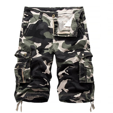 Design Camouflage Military Army Khaki Shorts