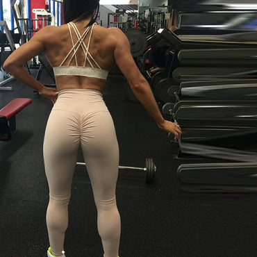 High Waist FitnessPatchwork Leggings