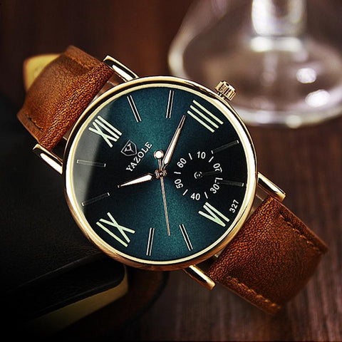 Fashion Leisure Watches Business Luminous Roman Design Watch