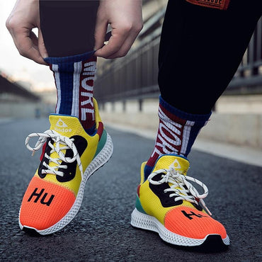 Breathable running sports fashion shoes