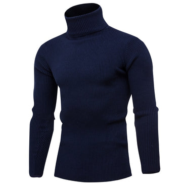New  Casual High Neck Knit Sweater