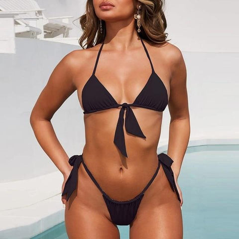 Woman Push Up Micro Swimwear