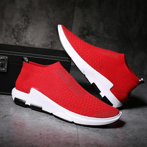 Men hot sneakers  Casual  Breathable Comfortable Mesh