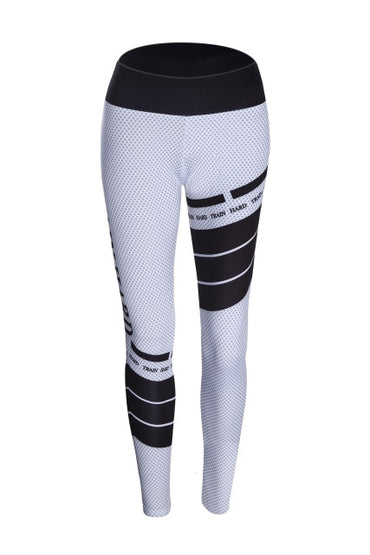 Casual Push Up Workout Polyester Leggings