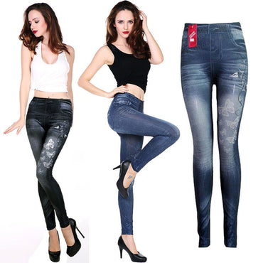 High Waist Skinny long Jeans