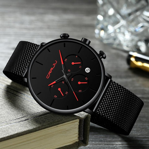 Business  Watches Luxury Casual Waterproof Sport Watch