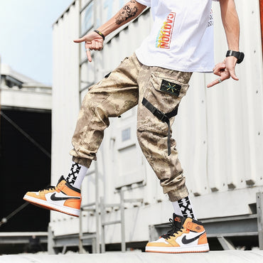 Military Mens Trousers Casual Slim Cargo Pants