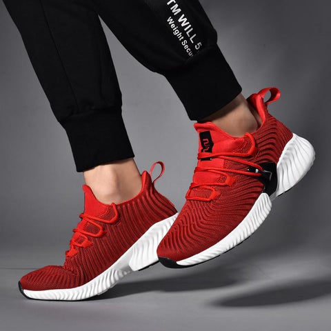 Lace Up Cushioning Sport Shoes
