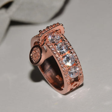 Vintage Rose Gold Filled Wedding Rings