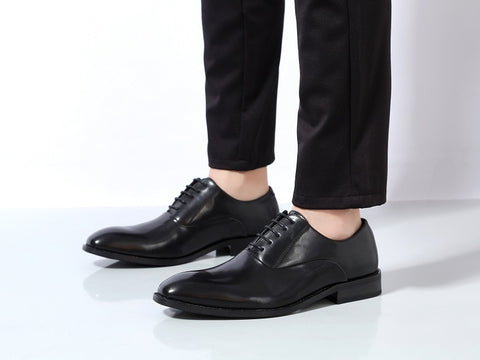 New fashion elegant oxford shoes Men leather italian formal dress office pointed toe Dress Business Party Shoes
