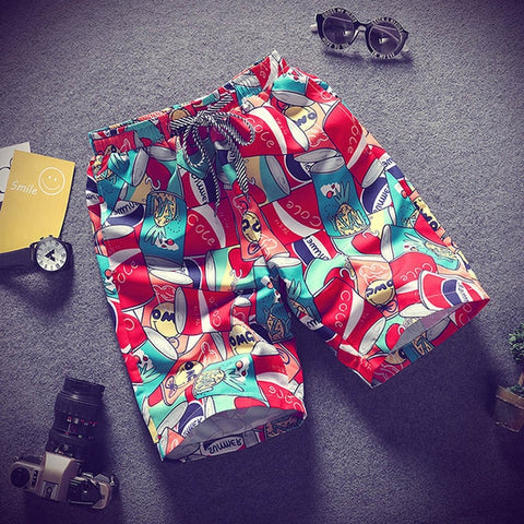 summer thin section breathable comfort casual men's shorts