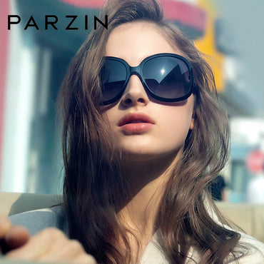 Fashion Oversized Black Sunglasses Women Brand Designer Elegant Big Frame