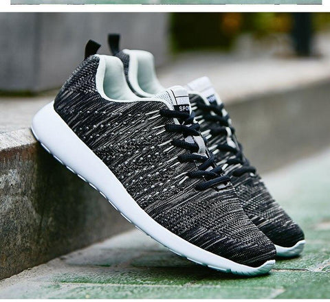 New Light Breathable Comfortable Flat Men fashion shoes