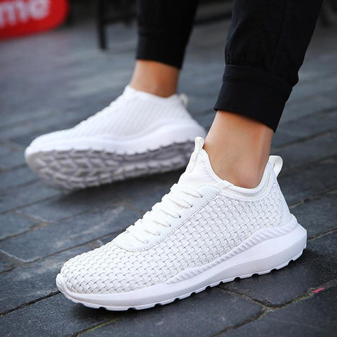 Men Fashion Hot Sale Hand Made Breathable hot sneakers