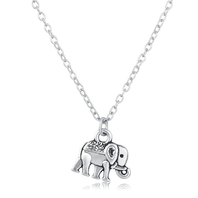Cute Elephant Shape Fashion Style Necklace