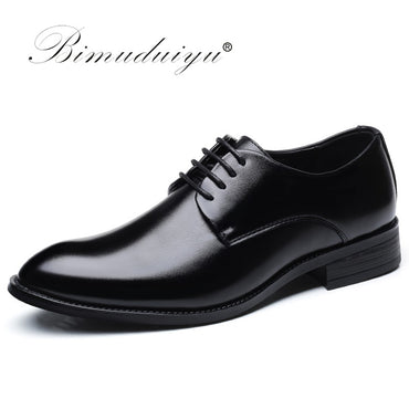 Brand Classic Man Pointed Toe Dress Shoes Mens Patent Leather Black Wedding Shoes Oxford Formal Shoes