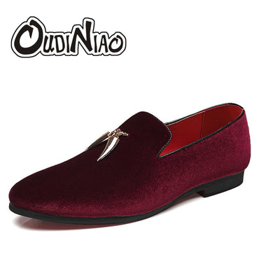 Men's Shoes Large Size Slip On Men Loafers Shoes Spring Casual Sickle Suede Mens Designer Shoes
