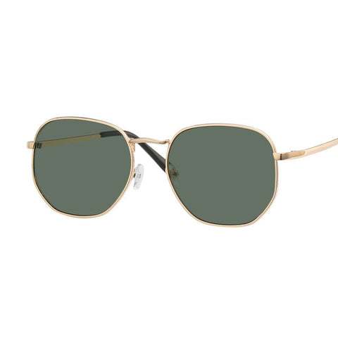 Brand Designer Women Sunglasses Ray Square Polygon Vintage