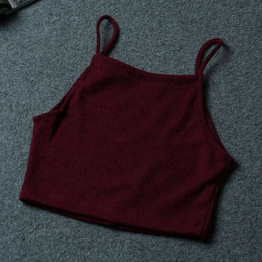 Knitted Crop Tops