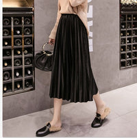 Skinny Large Swing Long Pleated Skirts
