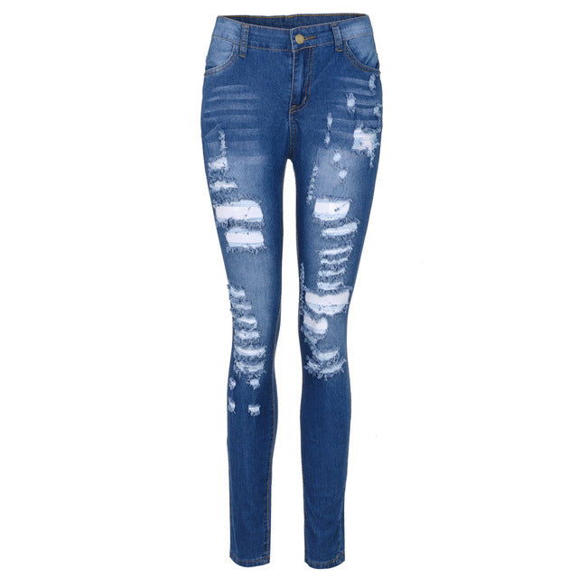 Fashion Women Stretch Jeans