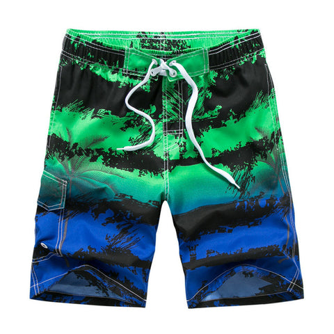 Printing Casual Quick Dry Board Shorts Bermuda Mens Short