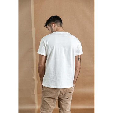 100% cotton white solid t-shirt