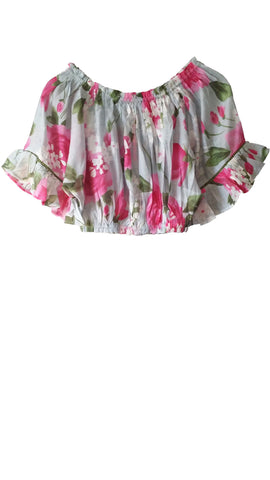 ONE RED FLY Flower Girl's Gypsey Top