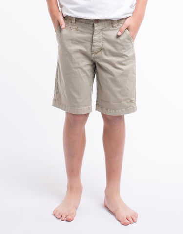 ST GOLIATH BOYS Pez Chino Short - Sand - Tween Boy 8-14