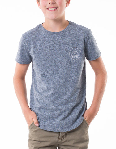 ST GOLIATH BOYS Zac Tee - Navy