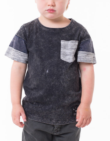 ST GOLIATH BOYS Levi Tee - Black