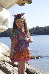 KAFTAN KIDS Girls Shanghai Summer Kaftan